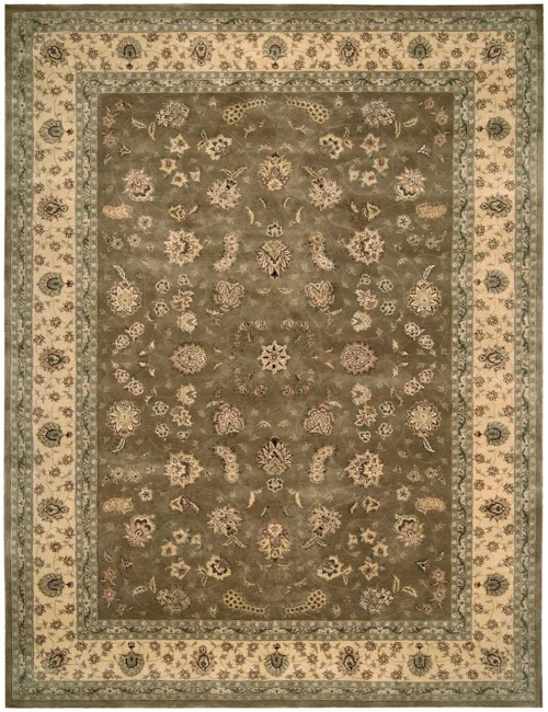 Nourison Nourison 2000 12' x 15' Olive Rectangle Rug