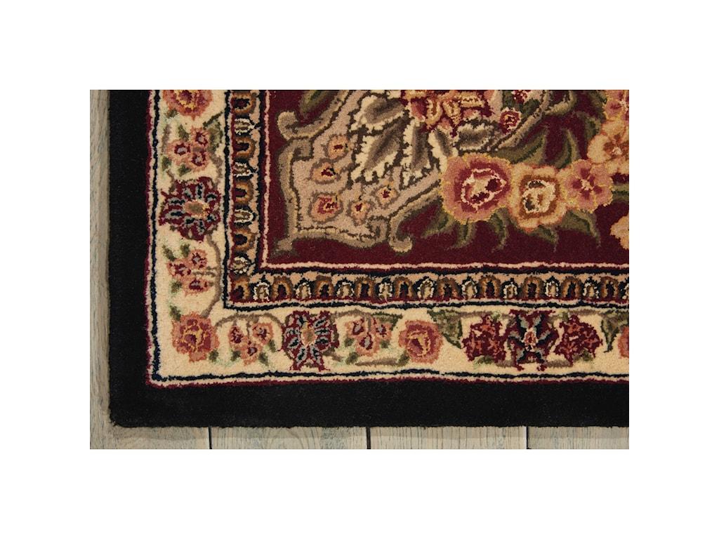 Nourison Nourison 200012' x 15' Black Rectangle Rug