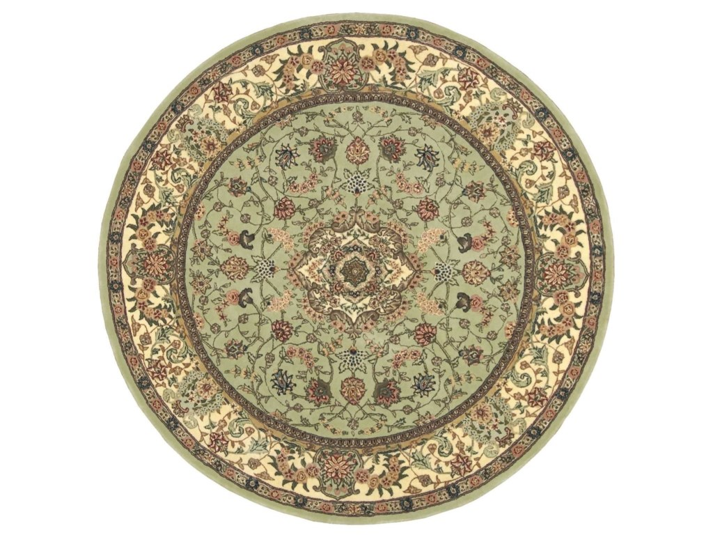Nourison Nourison 20006' x 6' Light Green Round Rug