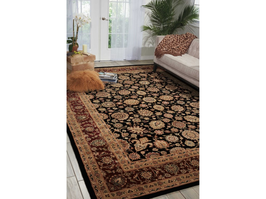 Nourison Nourison 20002' x 3' Black Rectangle Rug