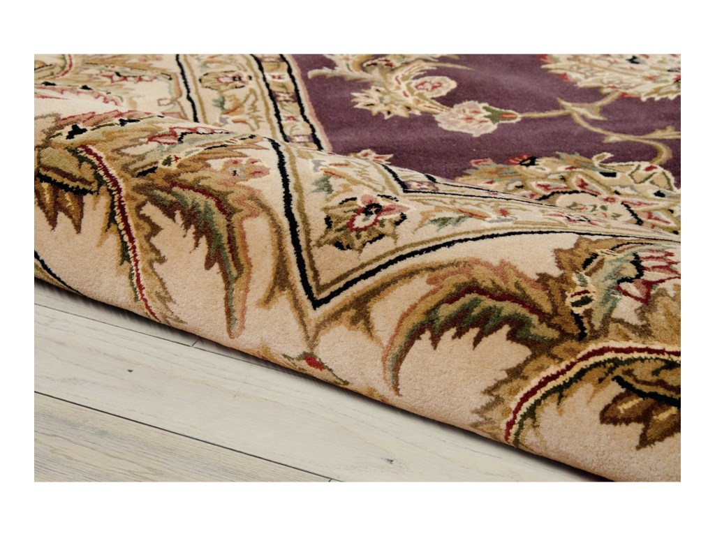 Nourison Nourison 20006' x 6' Lavender Round Rug