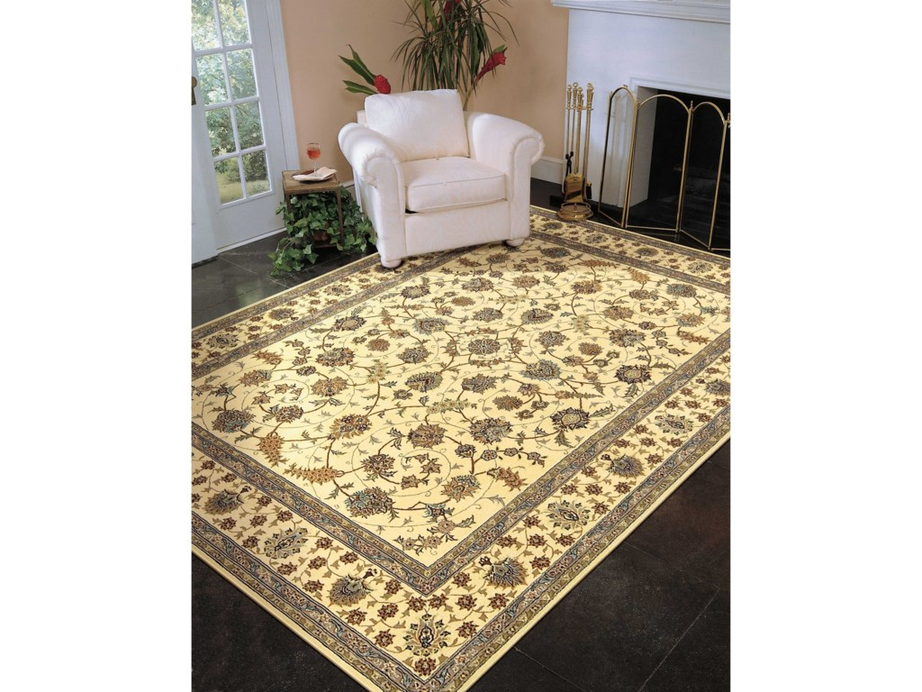 Nourison Nourison 200012' x 15' Ivory Rectangle Rug