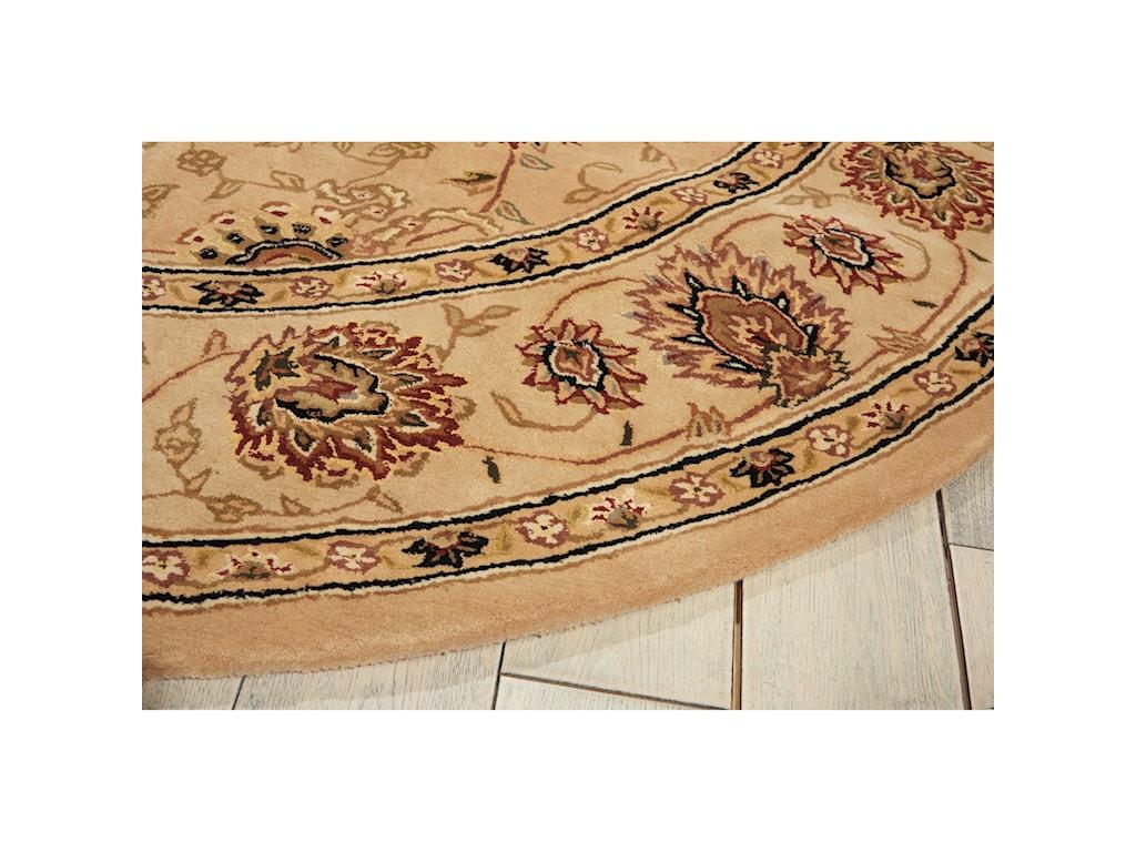 Nourison Nourison 20006' x 6' Camel Round Rug
