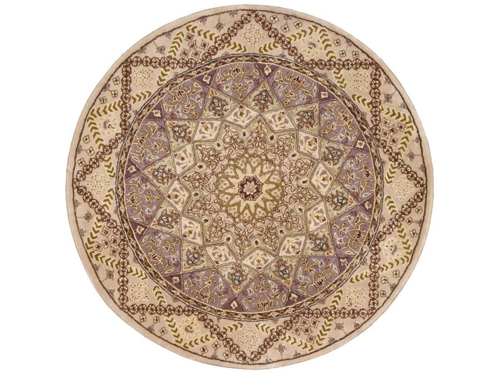 Nourison Nourison 20004' x 4' Lavender Round Rug