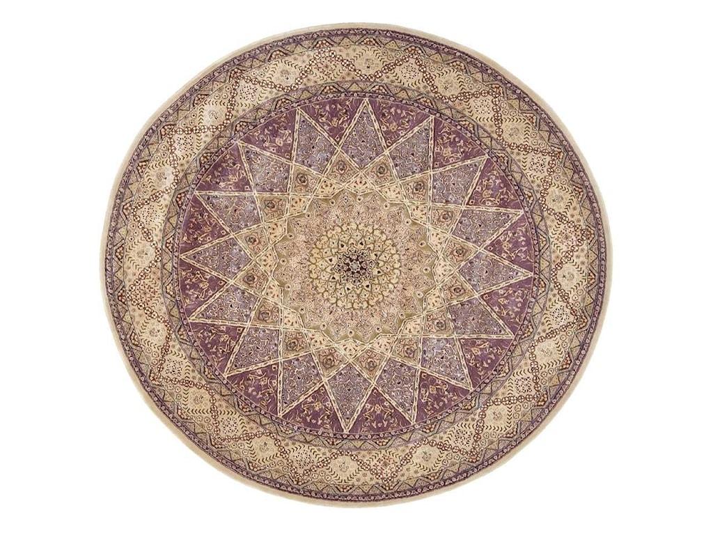 Nourison Nourison 20008' x 8' Lavender Round Rug