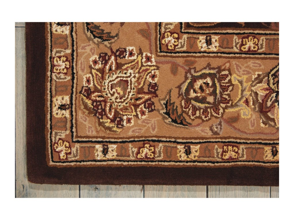 Nourison Nourison 200012' x 15' Brown Rectangle Rug