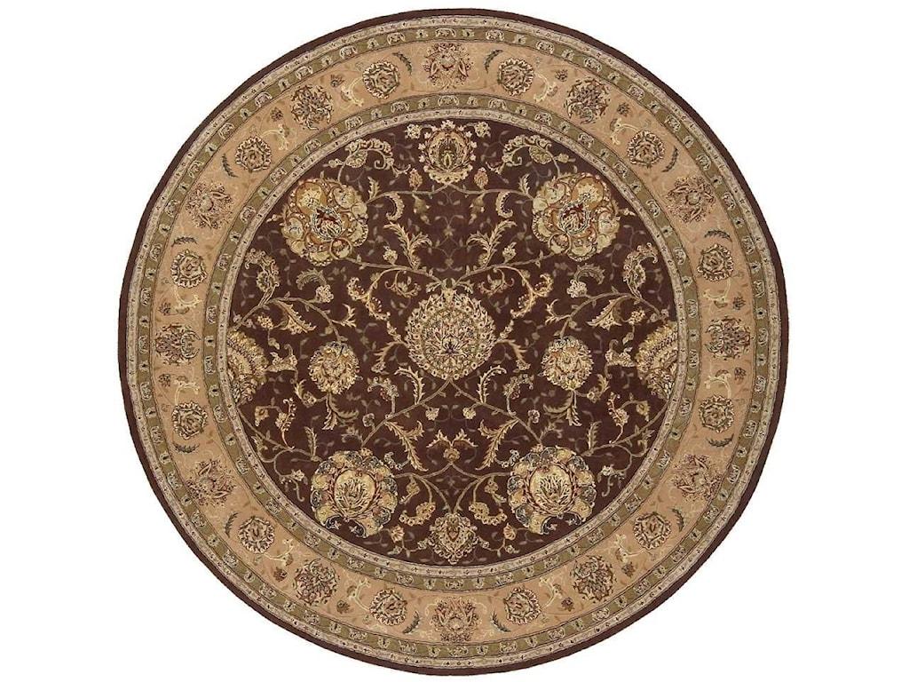 Nourison Nourison 20008' x 8' Brown Round Rug