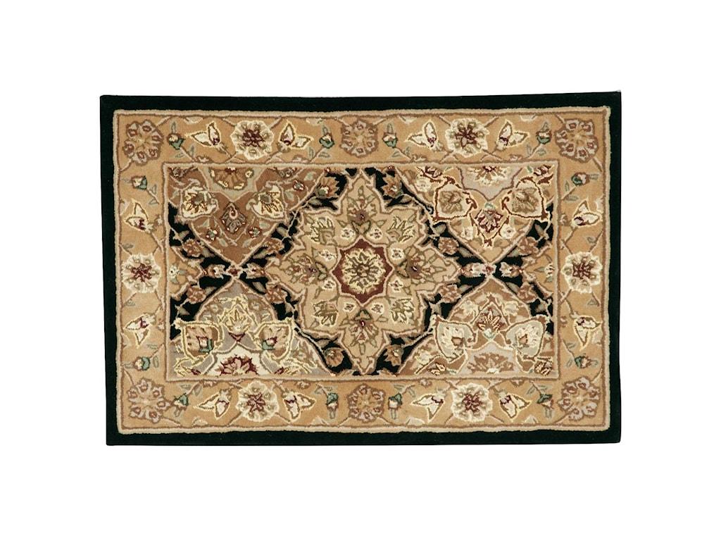 Nourison Nourison 20002' x 3' Black Rectangle Rug