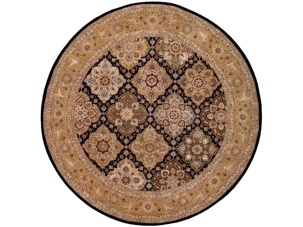 Nourison Nourison 20008' x 8' Black Round Rug