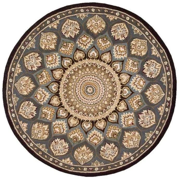 Nourison Nourison 20004' x 4' Slate Round Rug