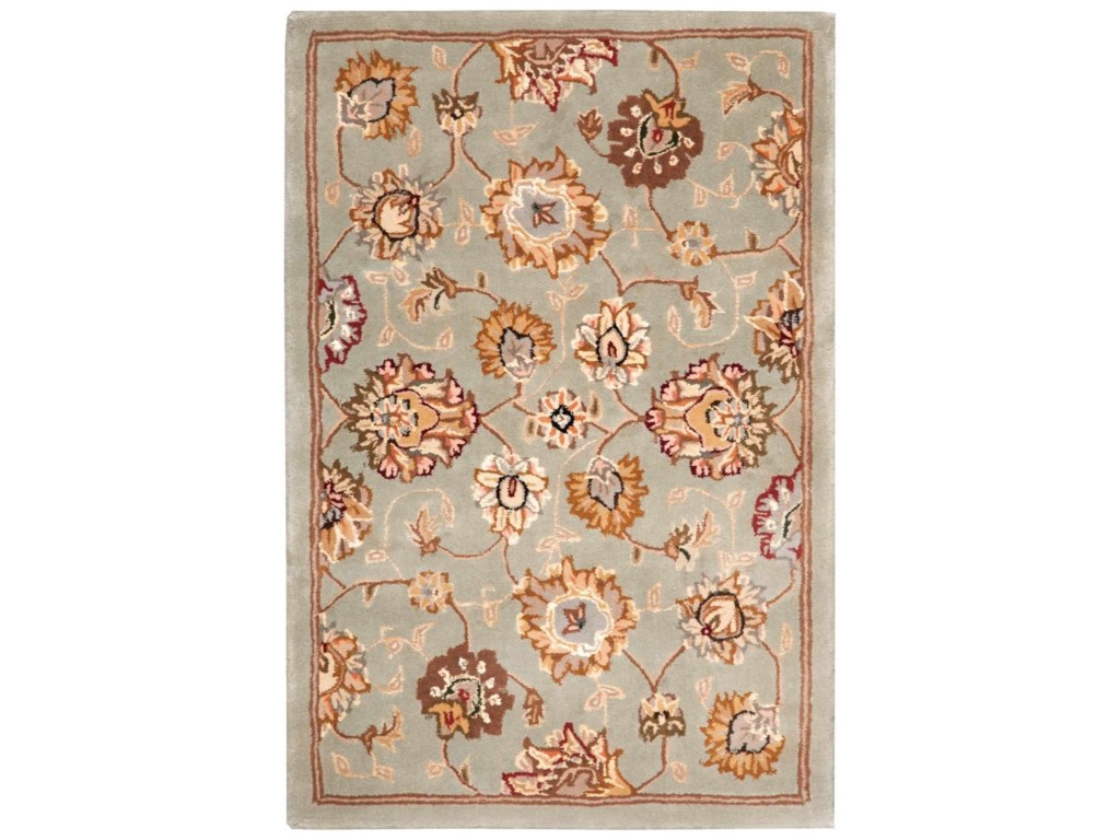 Nourison Nourison 20002' x 3' Aqua Rectangle Rug