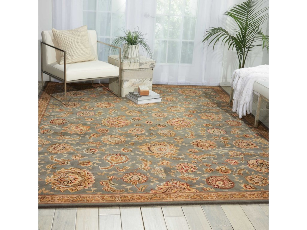 Nourison Nourison 20002' x 3' Slate Rectangle Rug