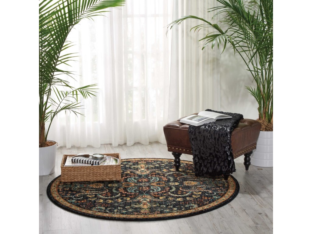 Nourison Nourison 20205' X 5' Night Fall Rug