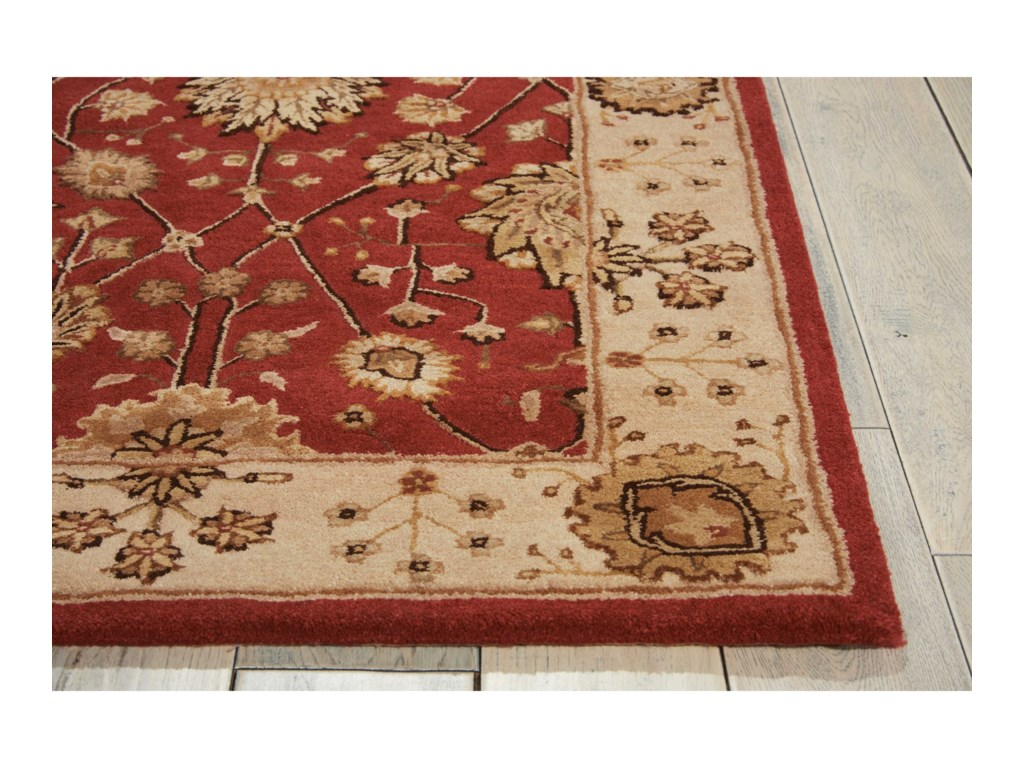 Nourison Nourison 30006' x 6' Red Round Rug