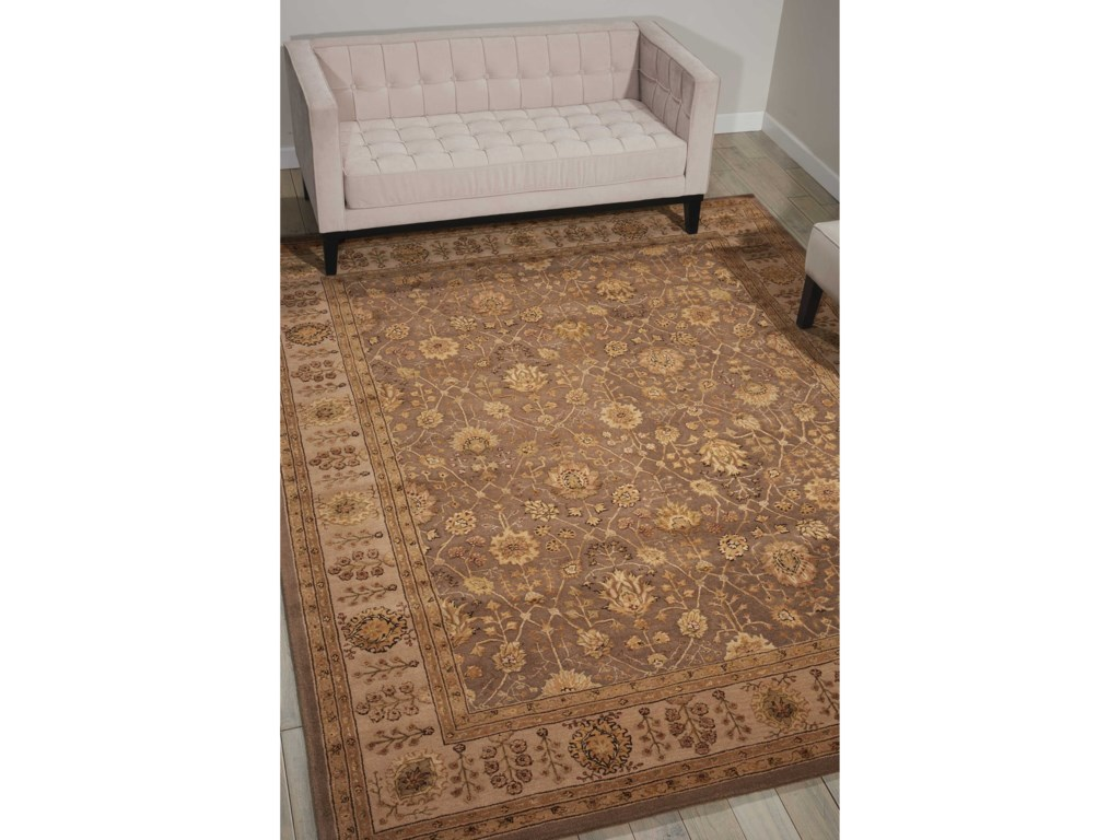 Nourison Nourison 300012' x 15' Taupe Rectangle Rug