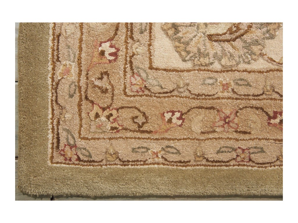 Nourison Nourison 300012' x 15' Light Green Rectangle Rug