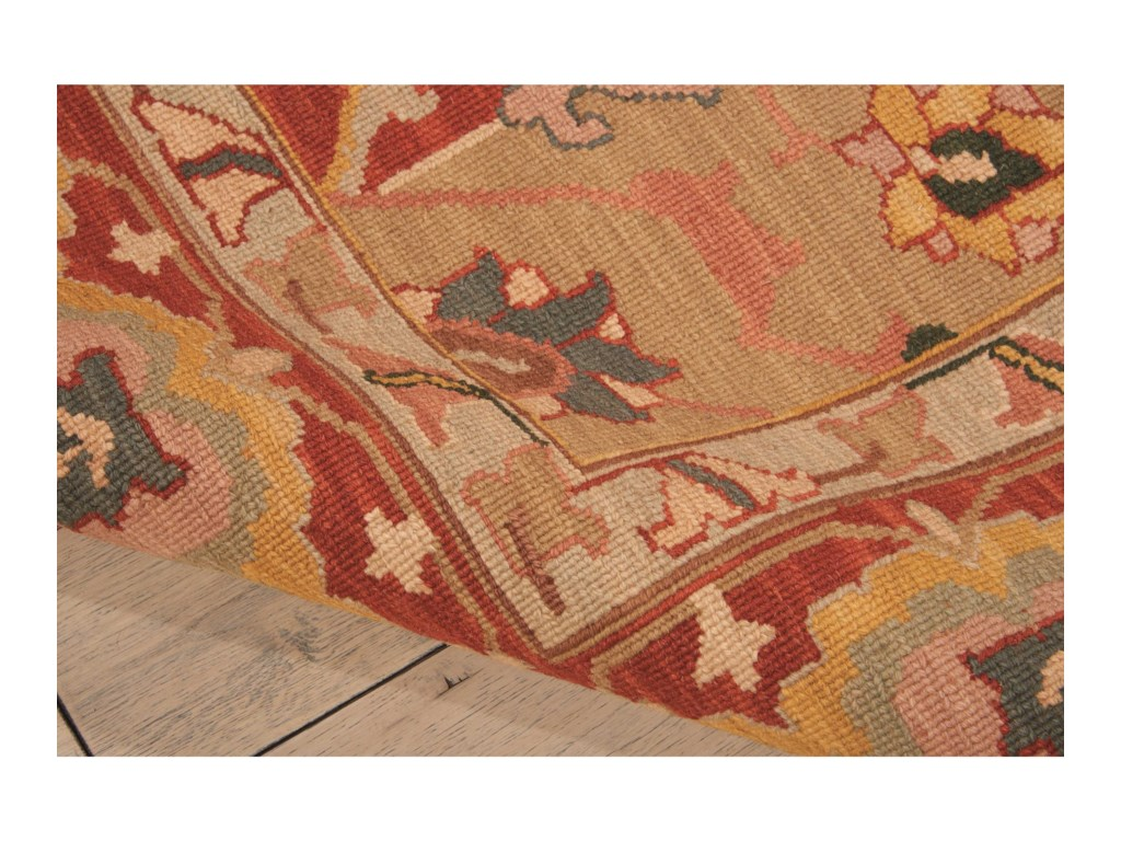 Nourison Nourmak12' x 15' Rust Rectangle Rug