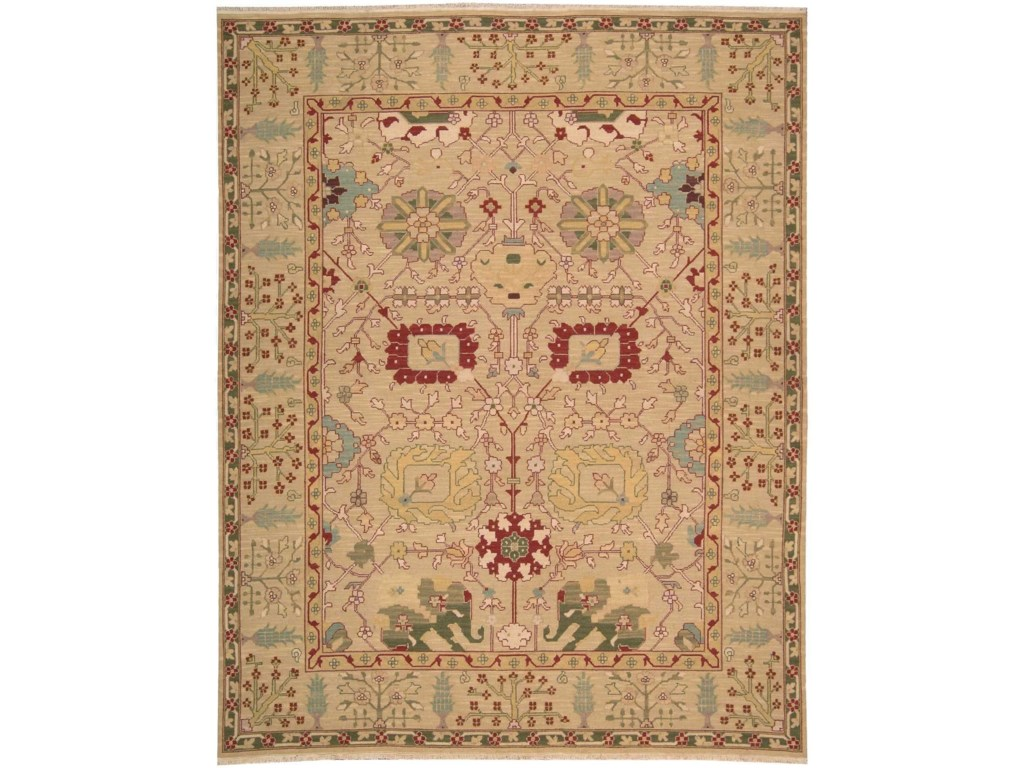 Nourison Nourmak12' x 15' Gold Rectangle Rug