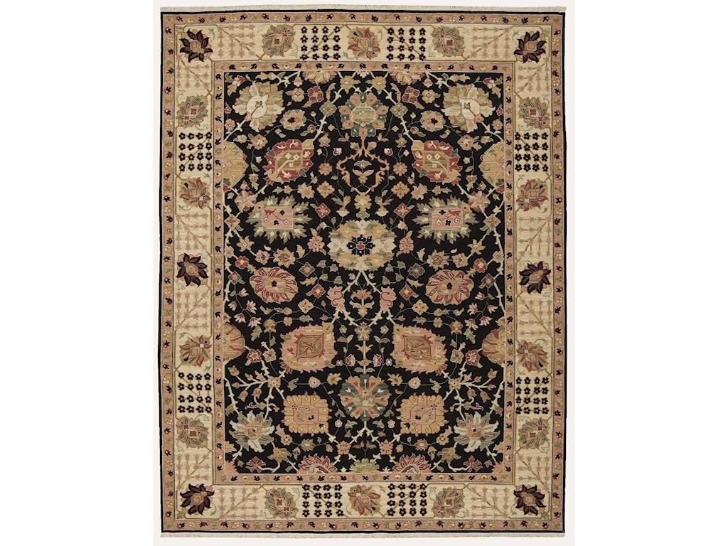 Nourison Nourmak12' x 15' Black Rectangle Rug