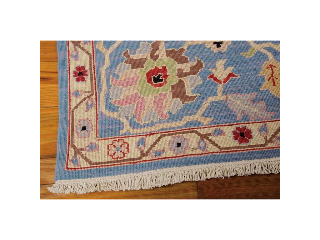 Nourison Nourmak12' x 15' Blue Rectangle Rug