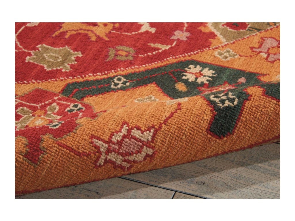 Nourison Nourmak12' x 15' Red Rectangle Rug