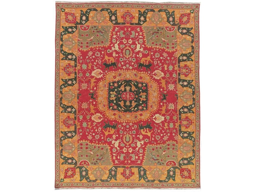 Nourison Nourmak12' x 18' Red Rectangle Rug
