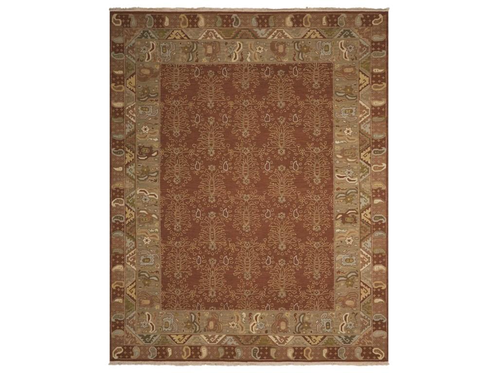 Nourison Nourmak12' x 18' Brown Rectangle Rug