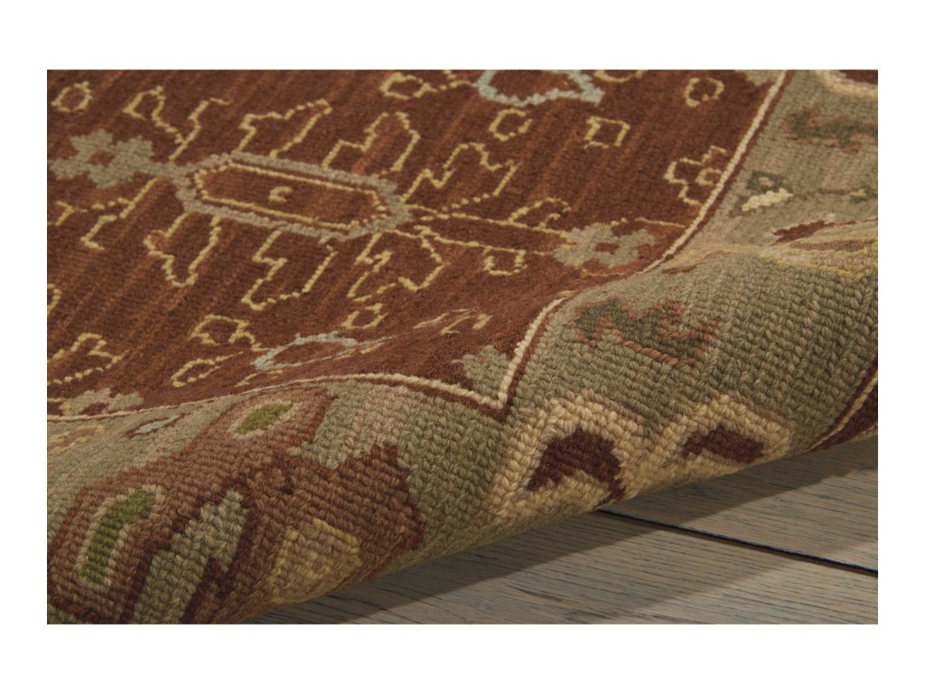 Nourison Nourmak2' x 3' Brown Rectangle Rug