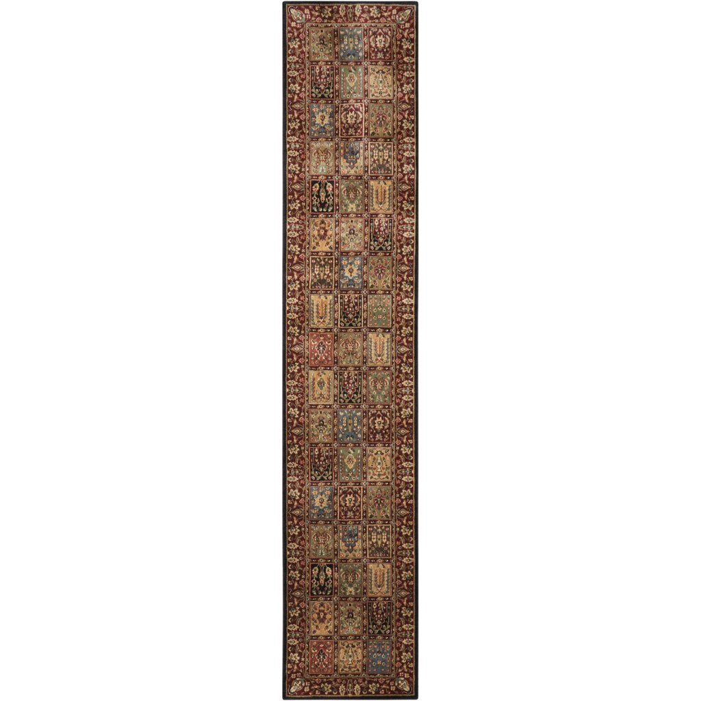 Nourison Persian Arts 2 3 X 12 Multicolor Runner Rug Broyhill Of