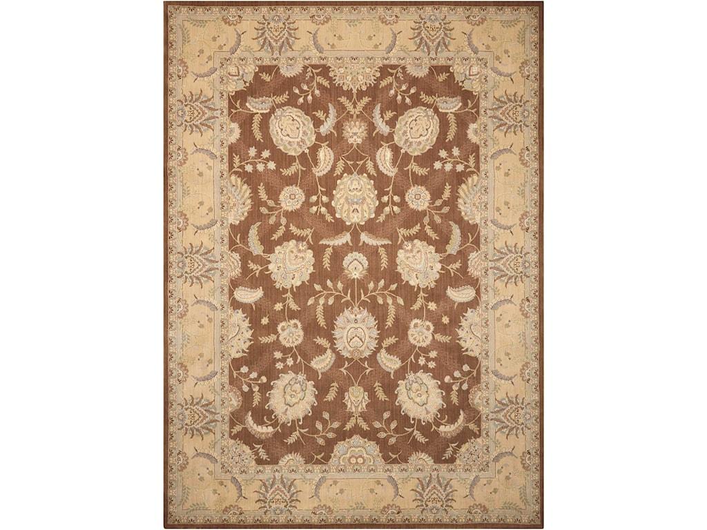 Nourison Persian Empire12' x 15' Chocolate Rectangle Rug