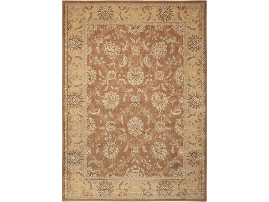 Nourison Persian Empire12' x 15' Mocha Rectangle Rug
