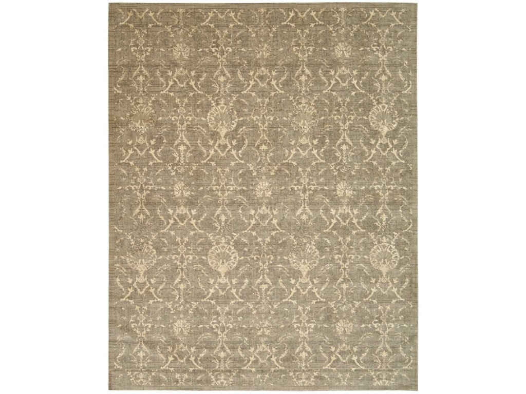 Nourison Silk Elements12' x 15' Moss Rectangle Rug