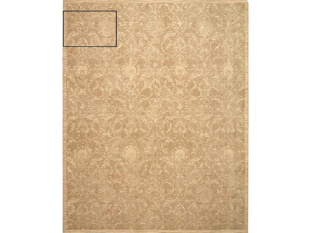 Nourison Silk Elements12' x 15' Sand Rectangle Rug