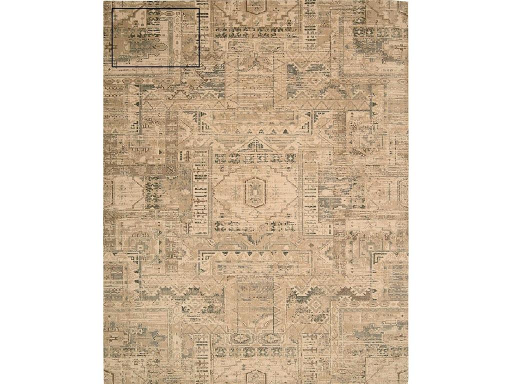 Nourison Silk Elements5'6