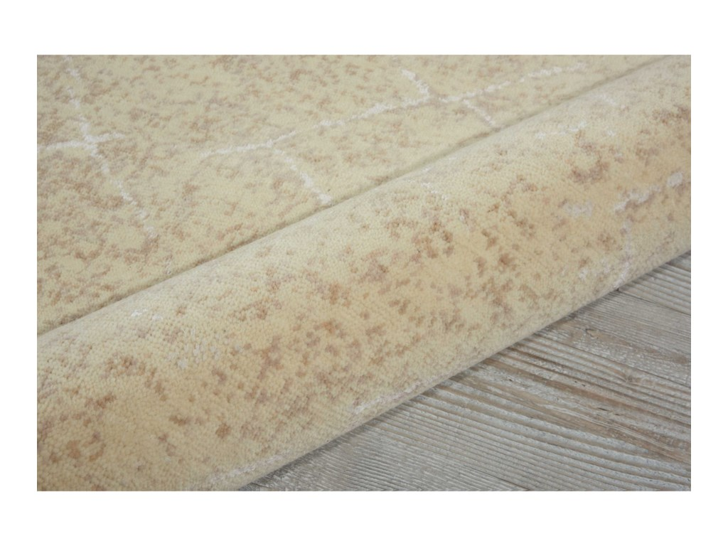 Nourison Silk Elements12' x 15' Natural Rectangle Rug
