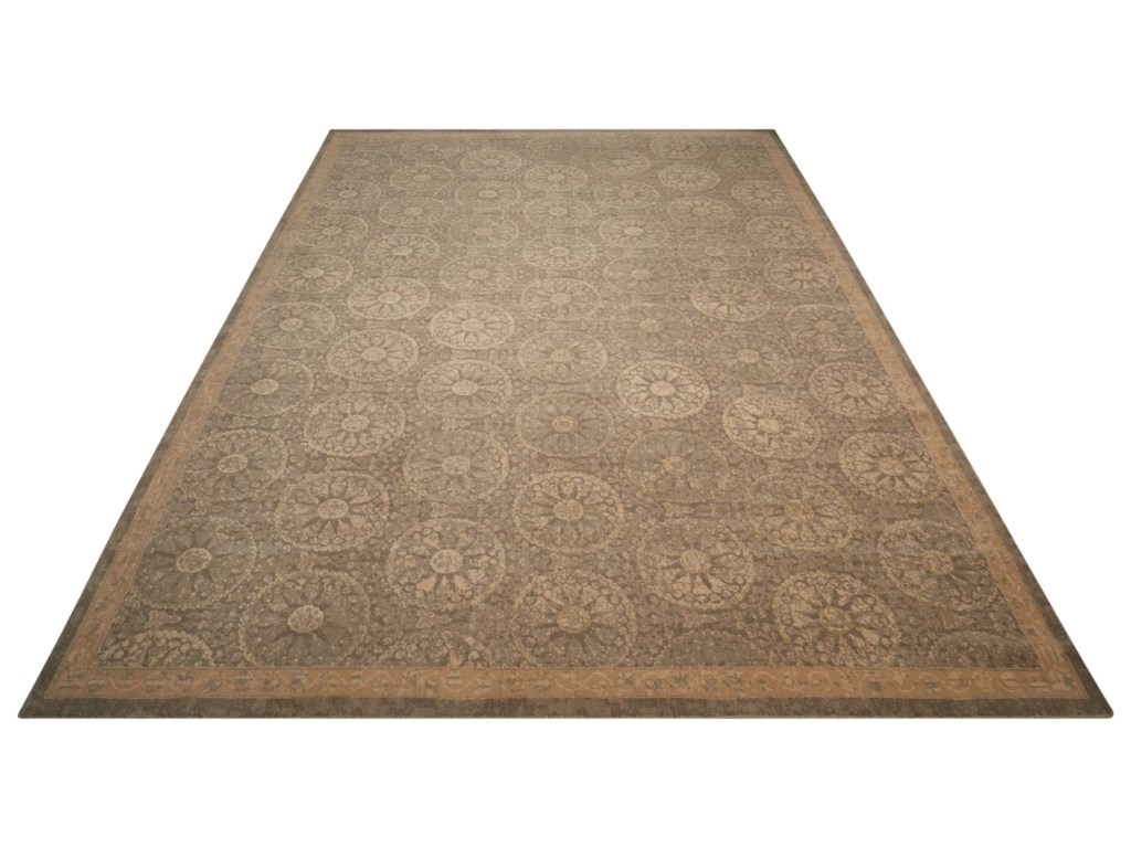Nourison Silken Allure12' x 15' Mushroom Rectangle Rug
