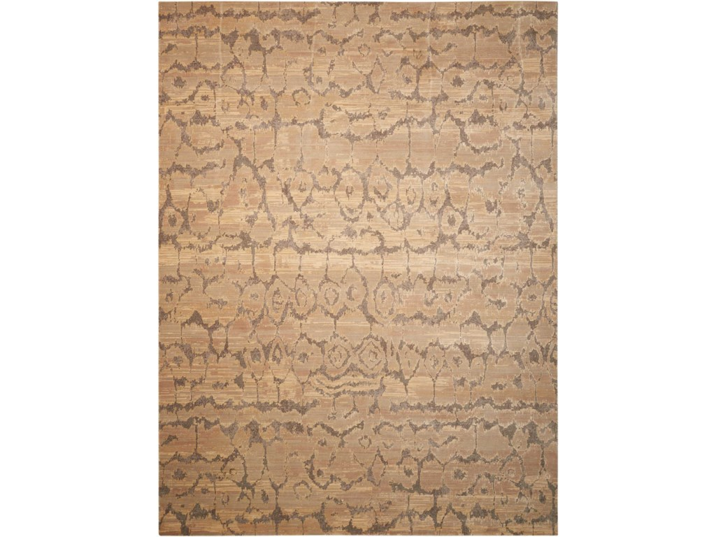 Nourison Silken Allure12' x 15' Beige Rectangle Rug