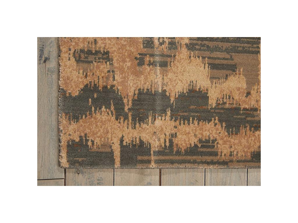 Nourison Silken Allure12' x 15' Teal Rectangle Rug