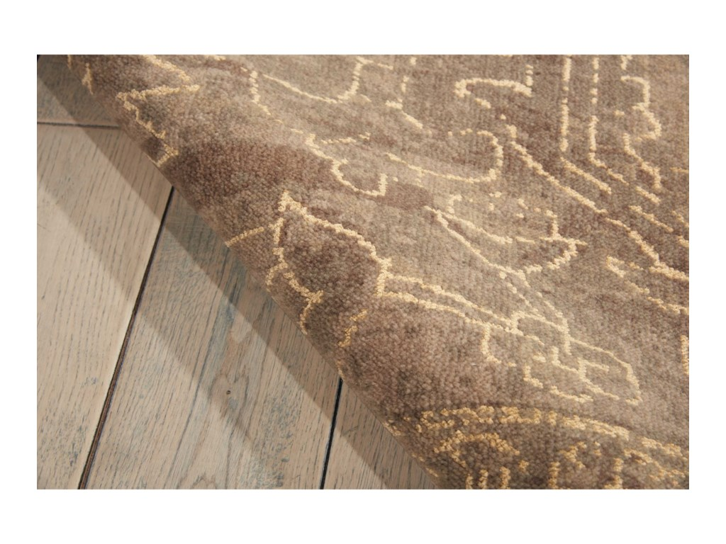 Nourison Silken Allure12' x 15' Taupe Rectangle Rug
