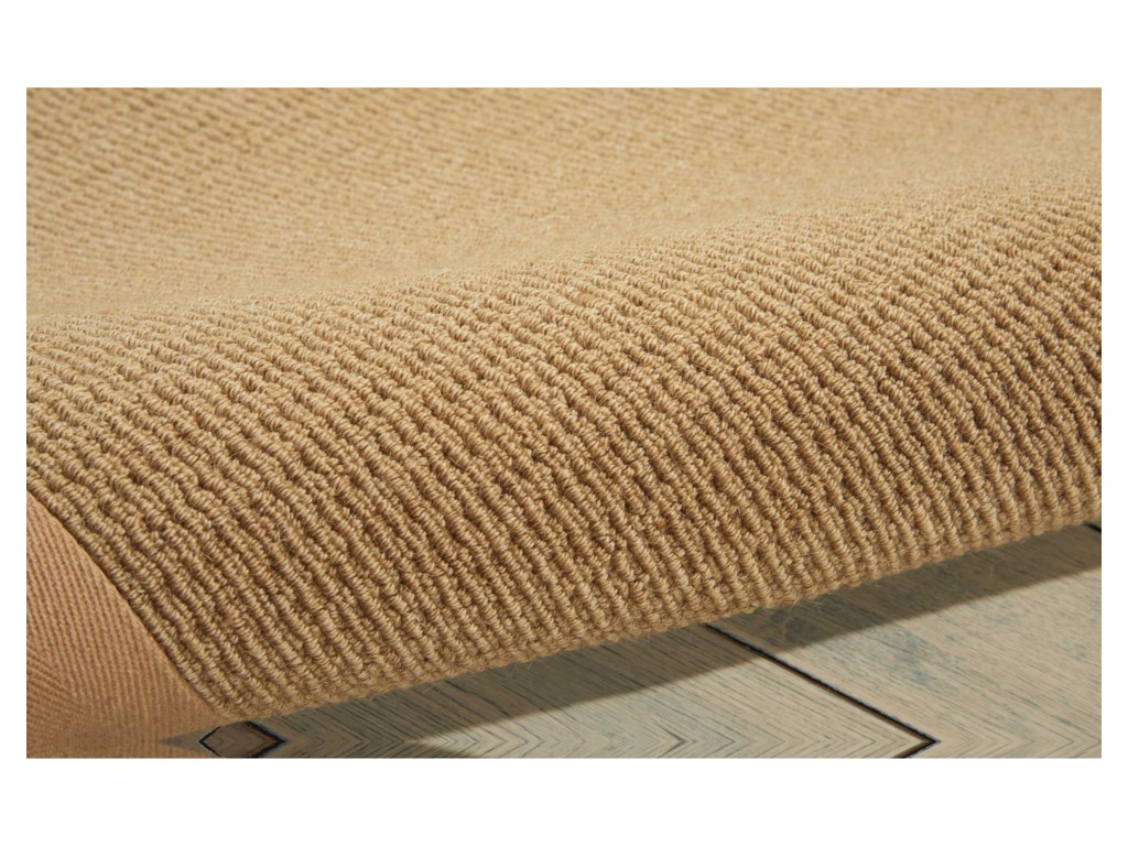 Nourison Sisalsoft5' x 8' Sand Rectangle Rug
