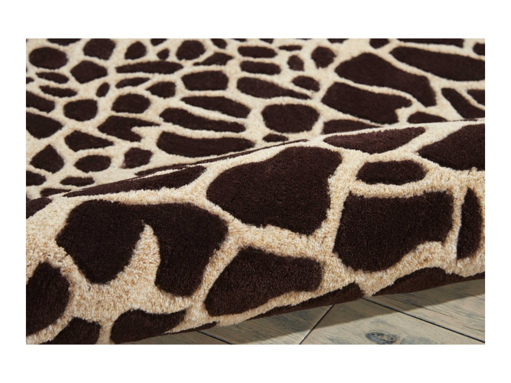 Nourison Skyland8' x 11' Brown/Iv Rectangle Rug