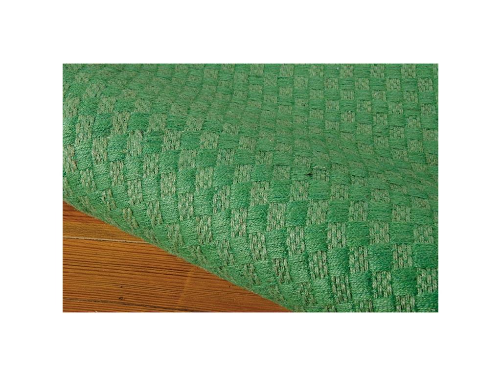 Nourison Sojourn5' x 7' Green Rectangle Rug