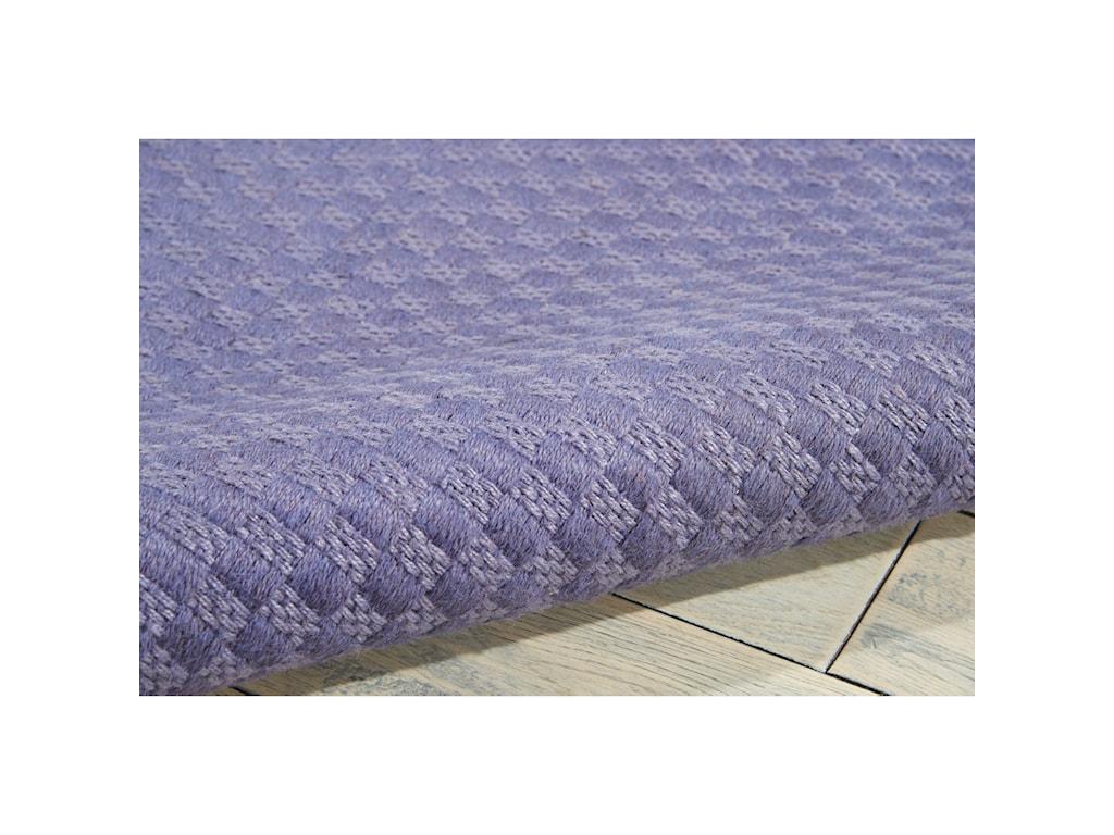 Nourison Sojourn5' x 7' Purple Rectangle Rug