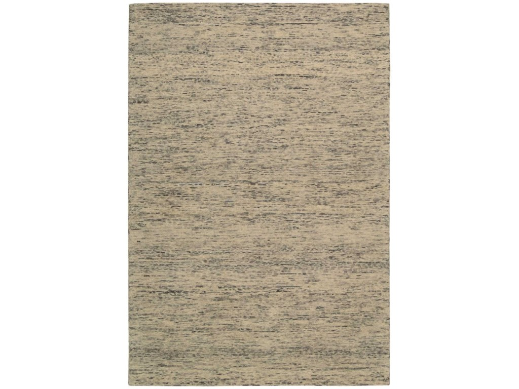 Nourison Sterling4' x 6' Silver Rectangle Rug