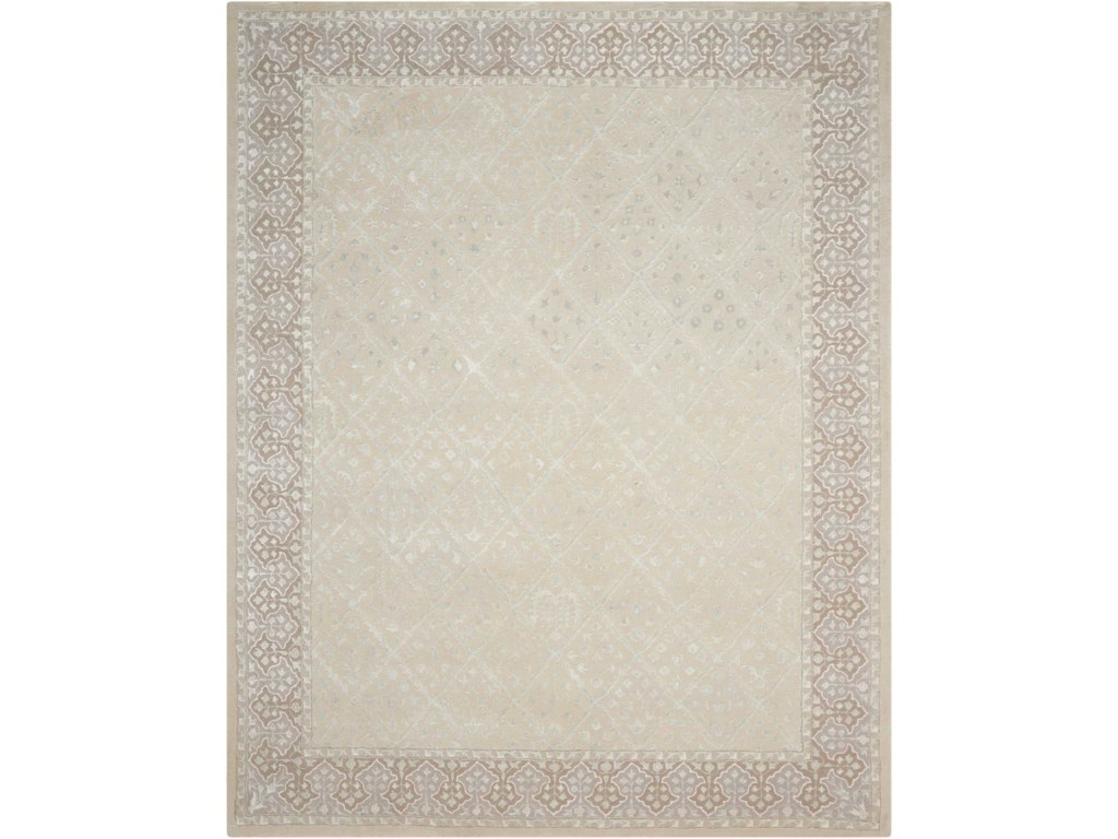 Nourison Symphony8' x 11' Sand Rectangle Rug
