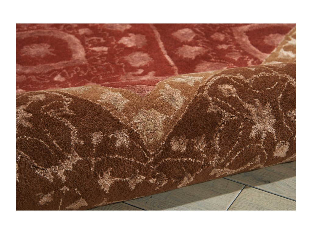 Nourison Symphony8' x 11' Ruby Rectangle Rug