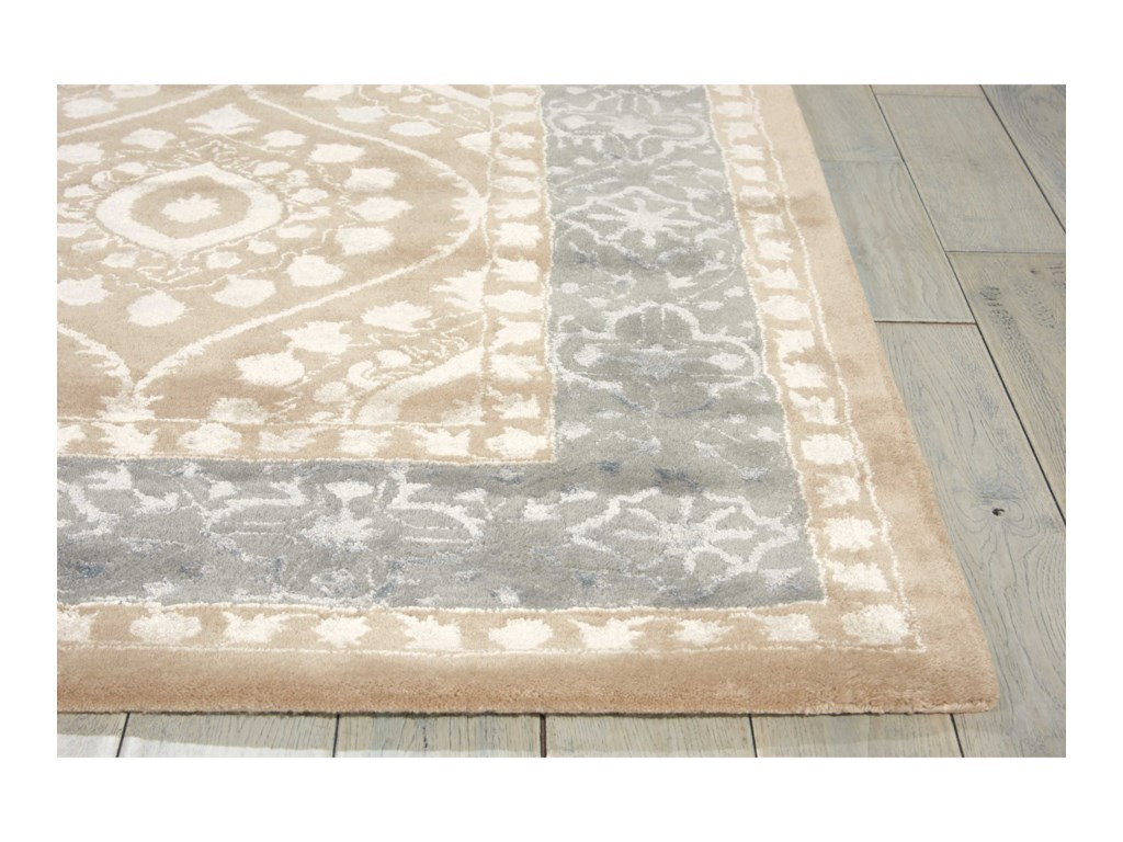 Nourison Symphony8' x 11' Taupe Rectangle Rug