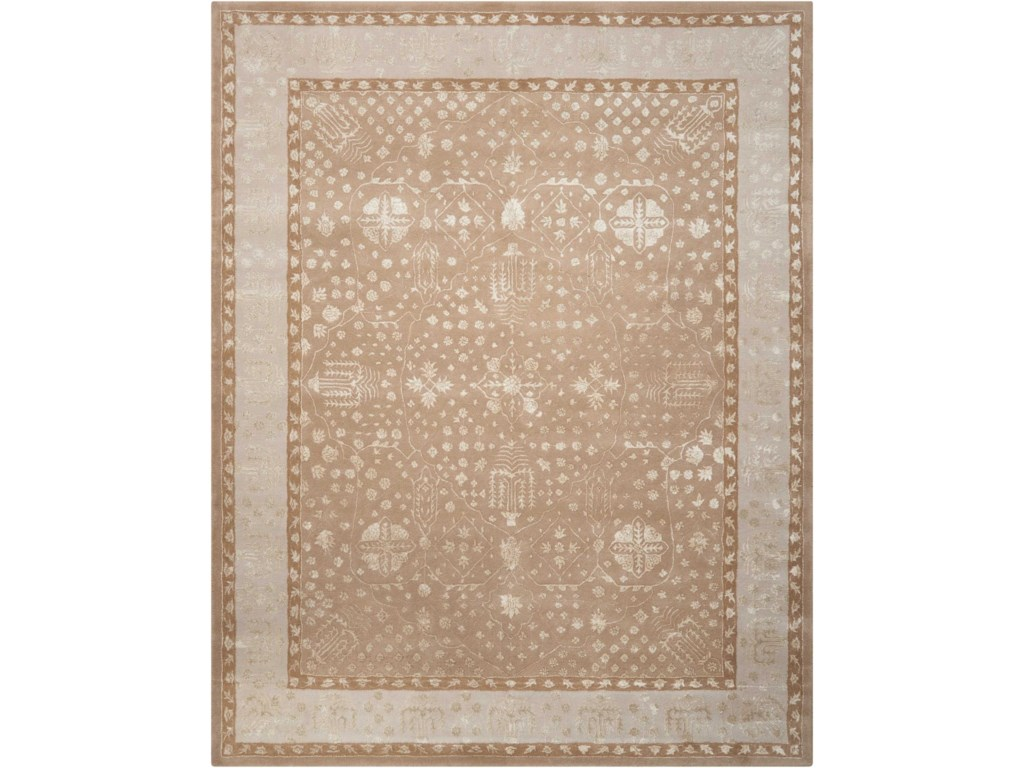 Nourison Symphony8' x 11' Warmtaupe Rectangle Rug