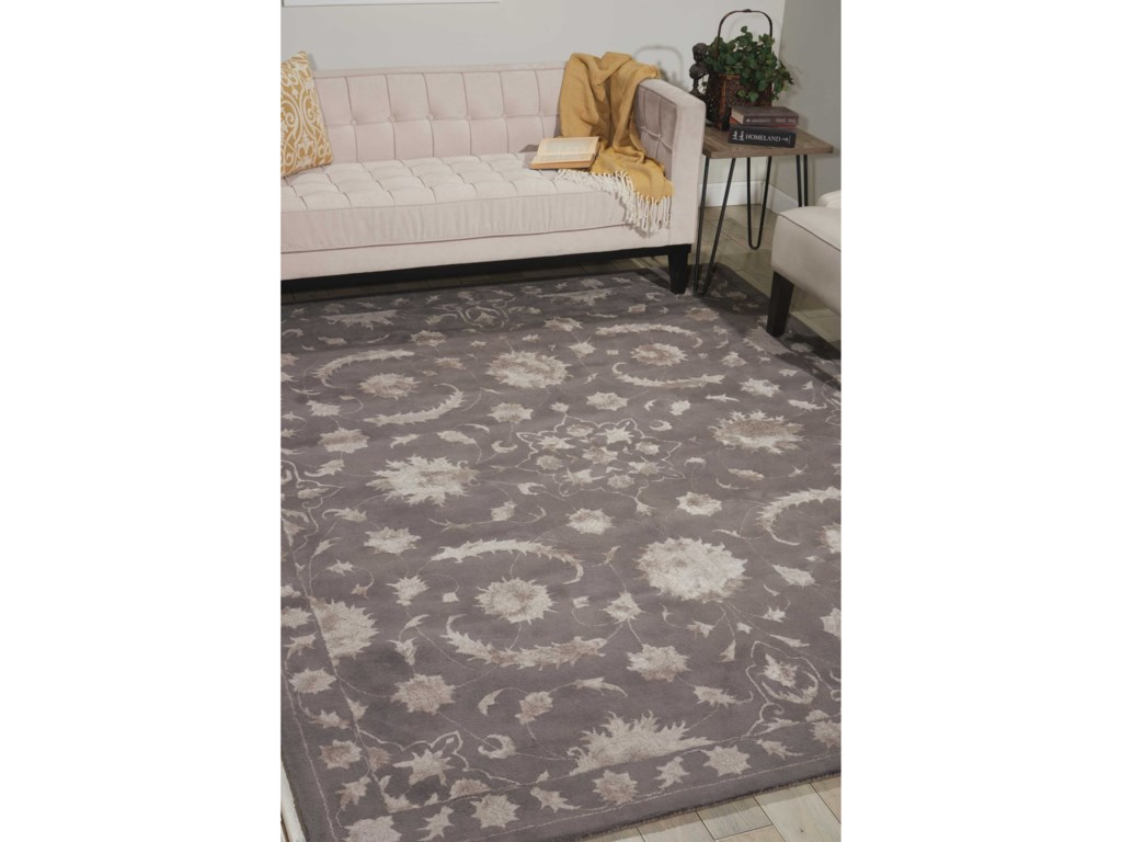 Nourison Symphony8' x 11' Dove Rectangle Rug