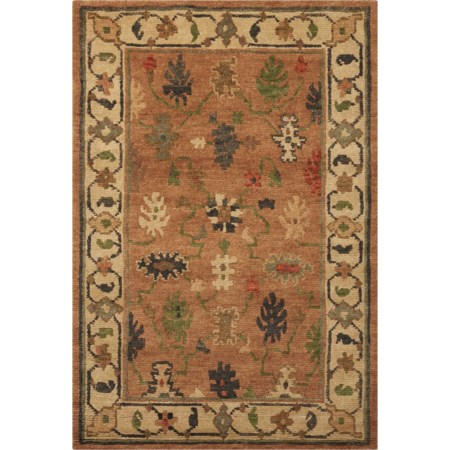 """8'6"""" x 11'6"""" Copper Rectangle Rug"""